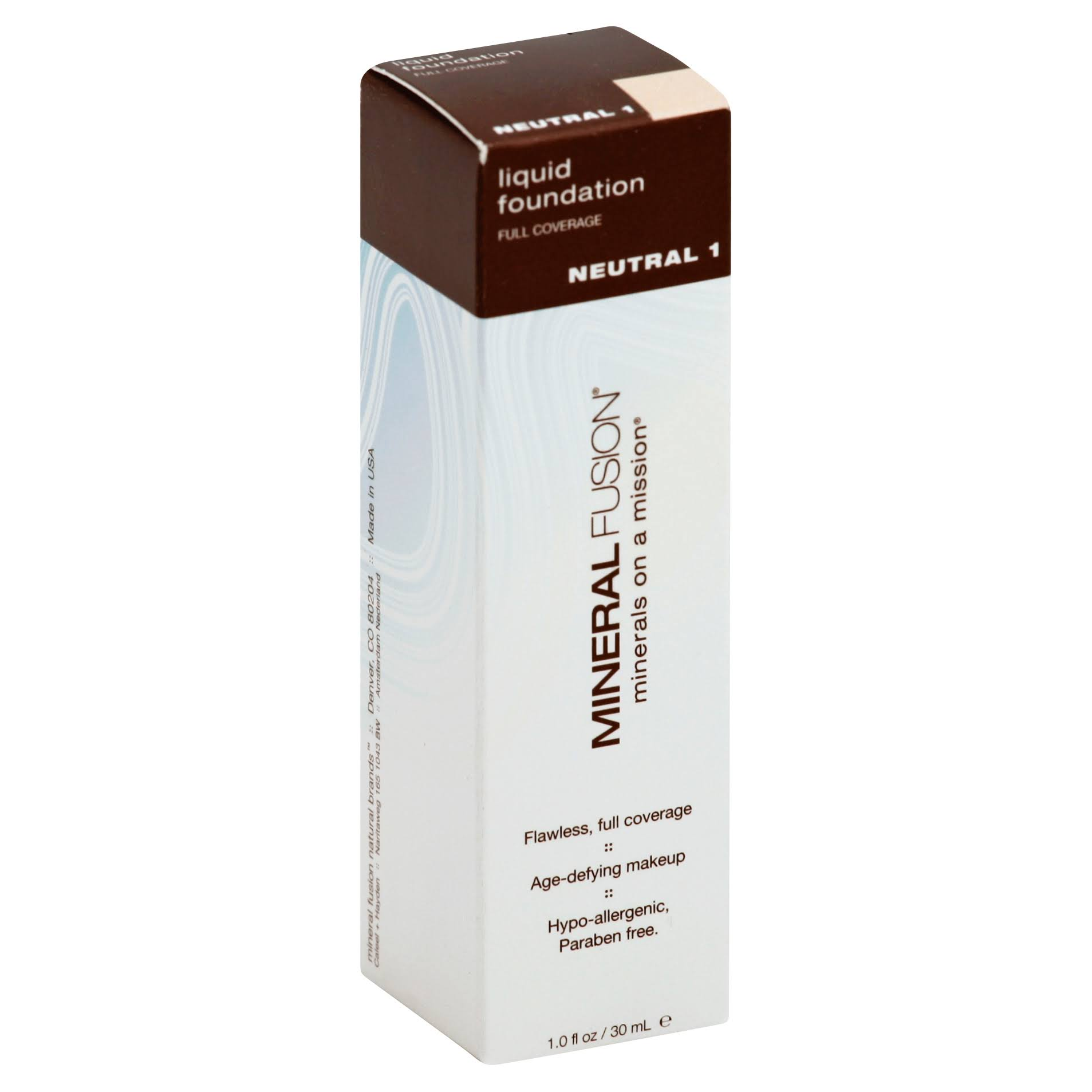 Mineral Fusion Liquid Foundation - Neutral, 30ml