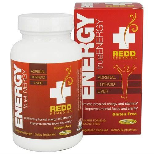 Redd Remedies trueEnergy - 50 Vegetarian Capsules