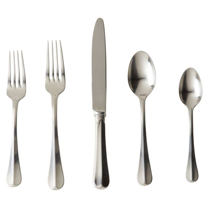 Juliska Bistro Flatware Setting - Bright Satin, 5pcs
