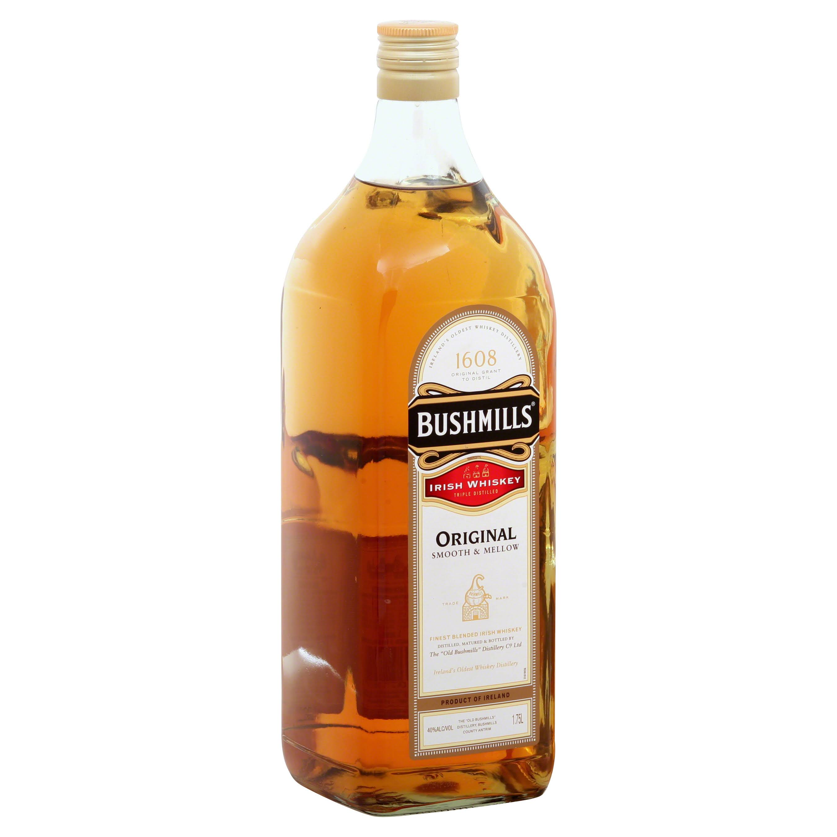 Bushmills Irish Whiskey, Original - 1.75 lt