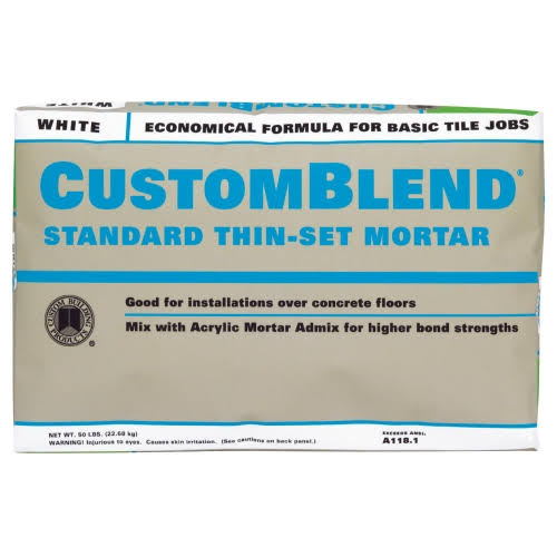 Custom Building Products Custom-Build Standard Thin-Set Mortar - White