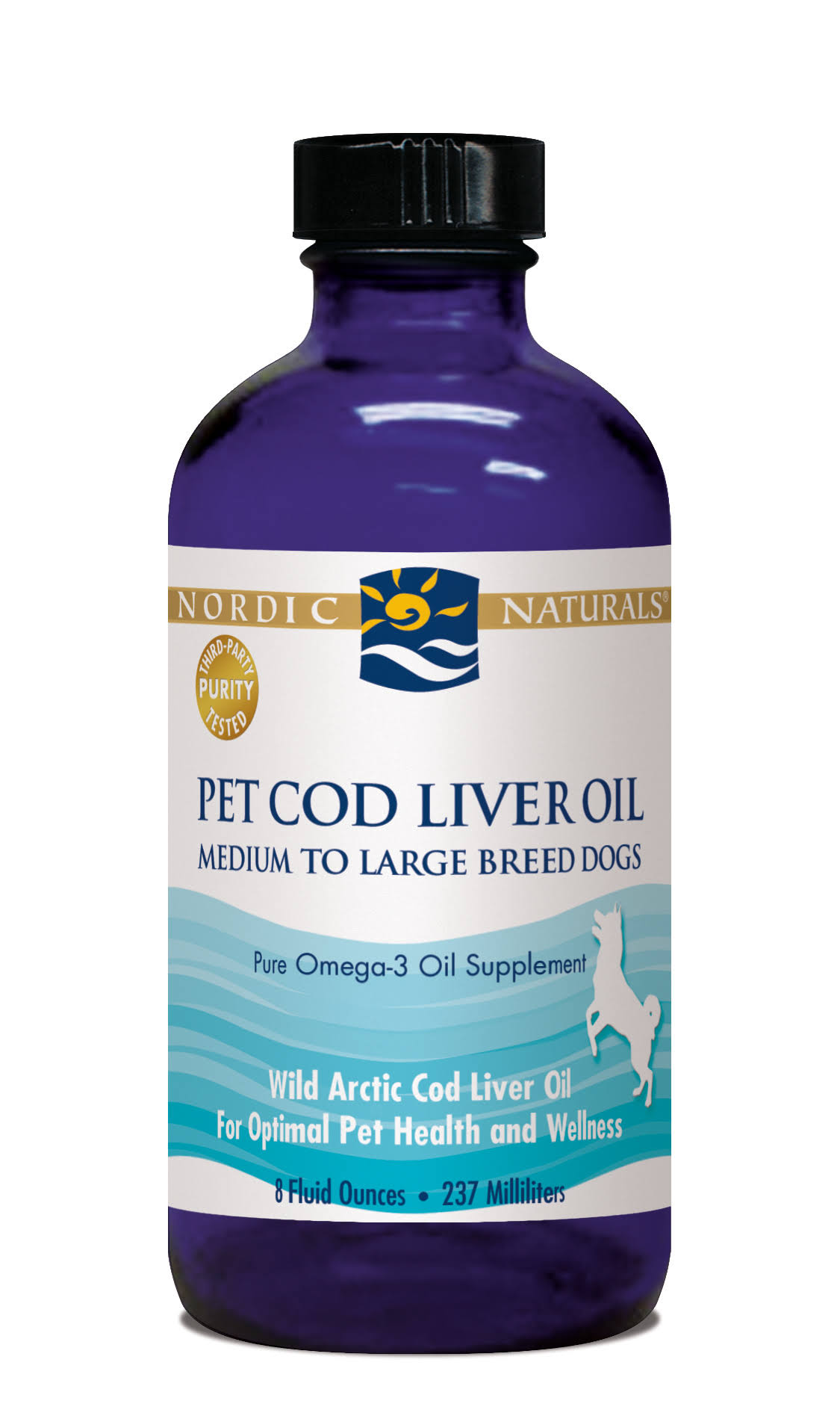 Nordic Naturals Pet Cod Liver Oil - 240ml