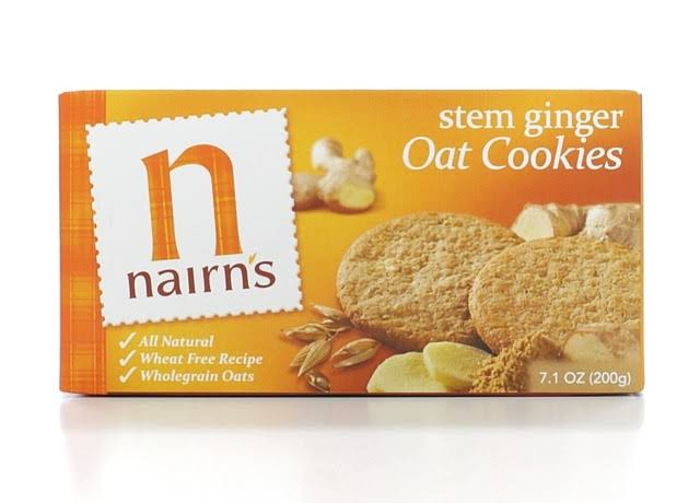 Nairn's Stem Ginger Oat Biscuits - 7.1oz