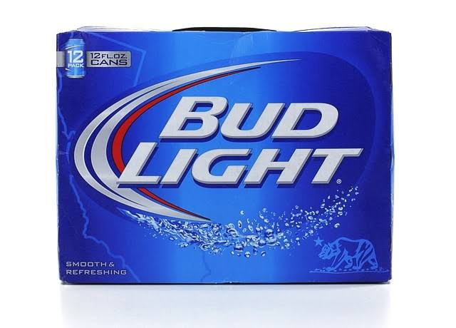 Budweiser Light Beer - 12oz x 12 Pack