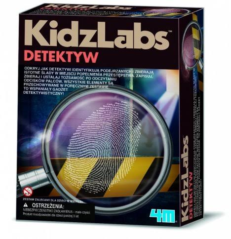 Kidz Labs Detective Science Fingerprint Kit
