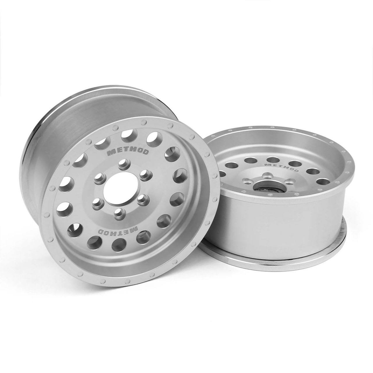 Vanquish Incision Method Clear Anodized Beadlock Wheels - 1/10 scale