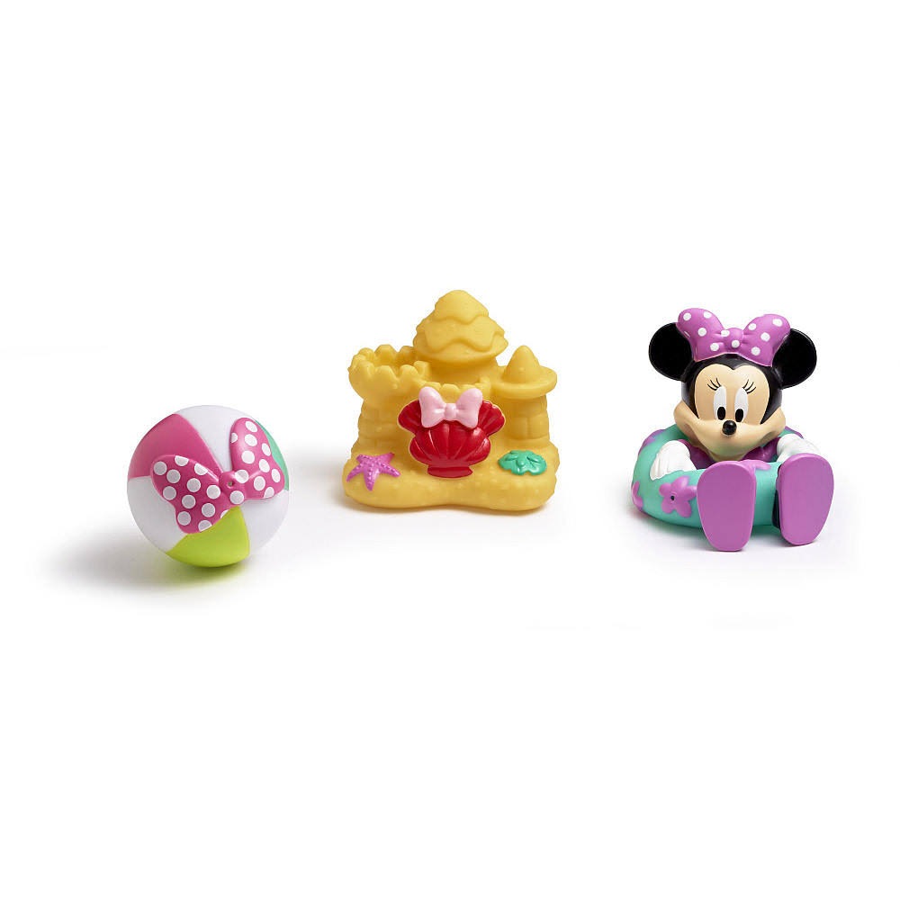 The First Years Disney Baby Minnie Mouse Bath Squirt Toys - 3pcs