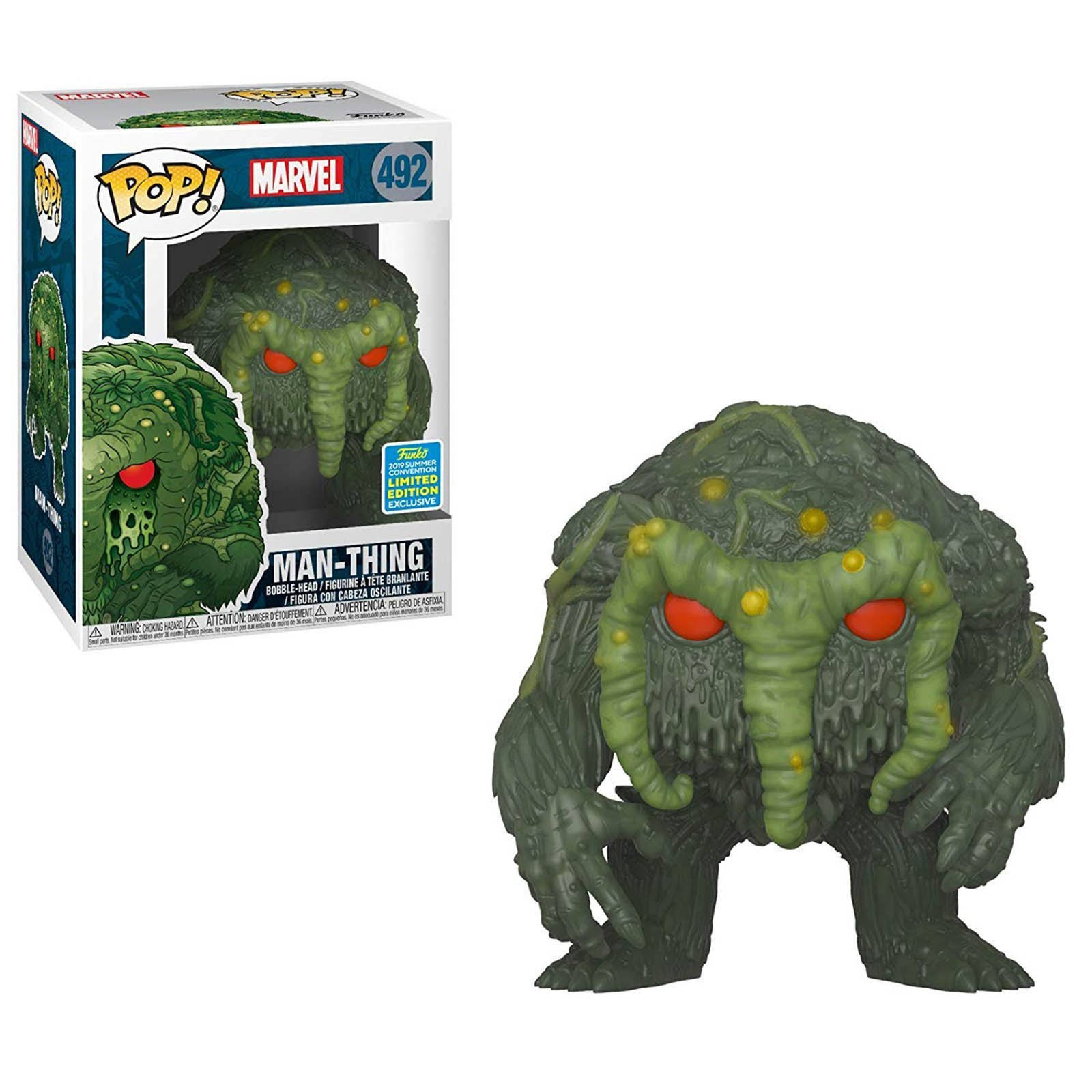 Funko Pop! Marvel Vinyl Figure - Man-thing