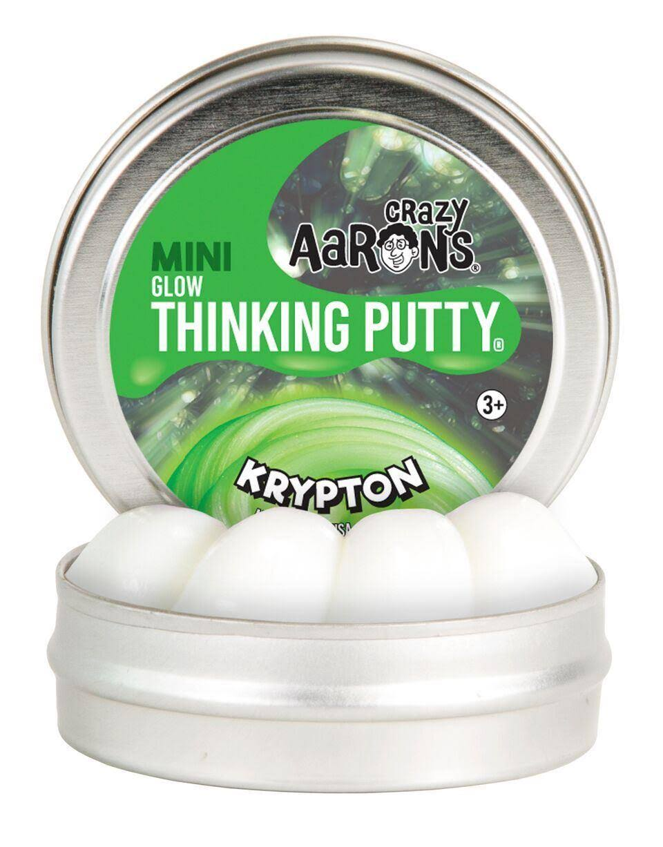 Crazy Aaron's Krypton Mini Tin Thinking Putty