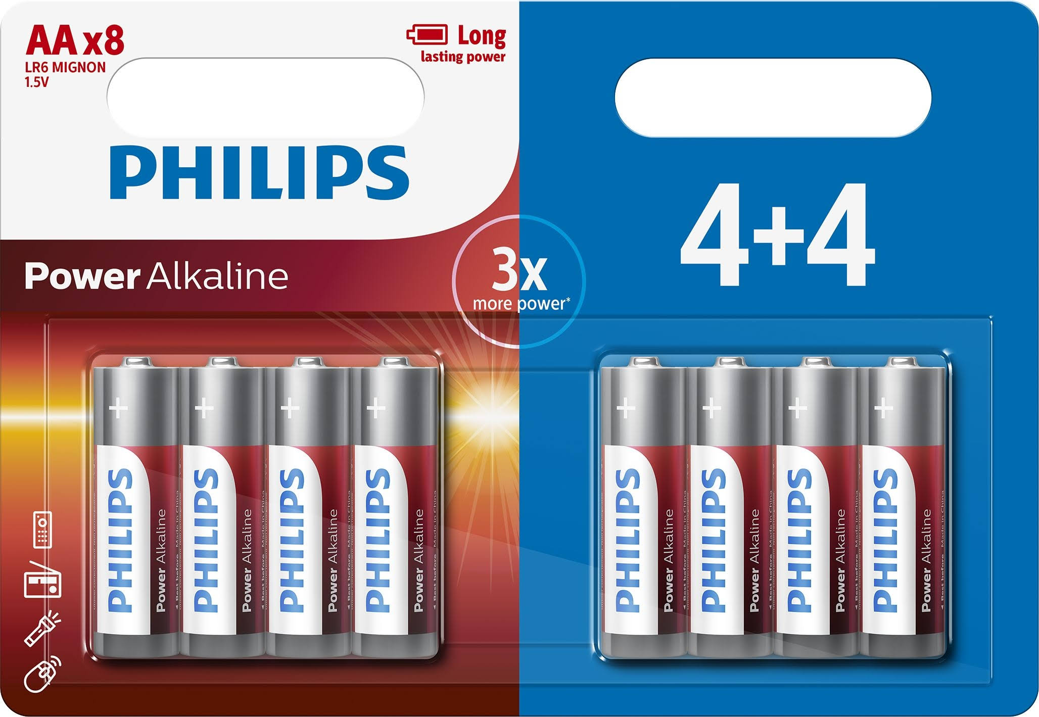 Philips Battery - AA - Alkaline