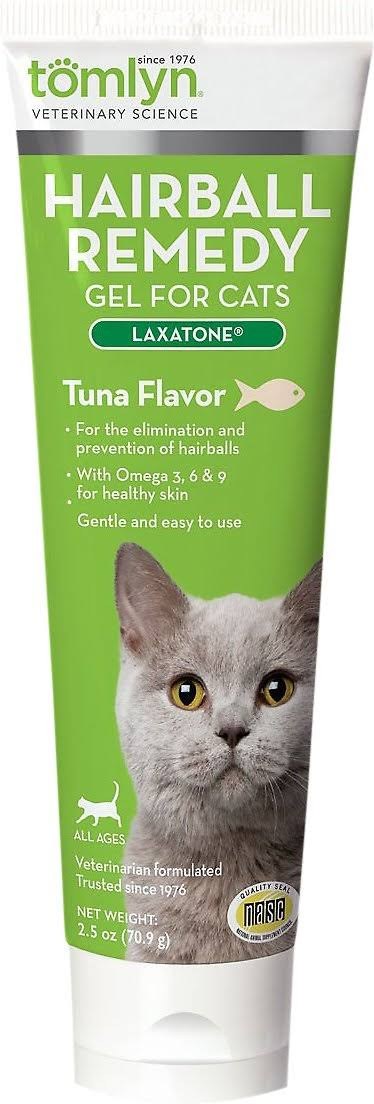 Tomlyn Laxatone Hairball Remedy for Cats - Tuna, 2.5 oz