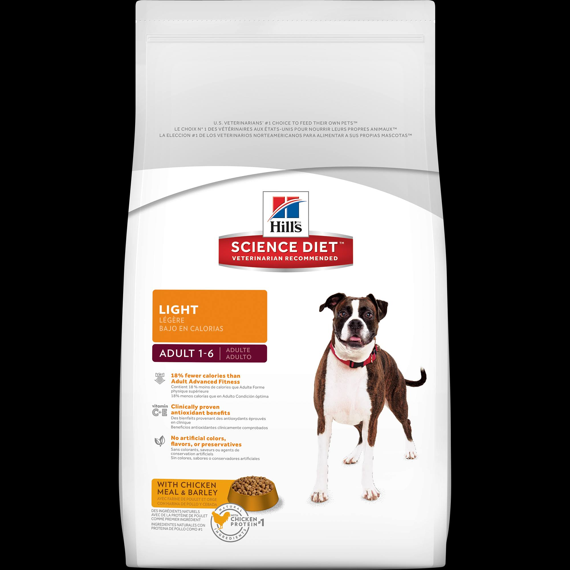 Hill's Science Diet Adult Light Dry Dog Food - 33 lbs