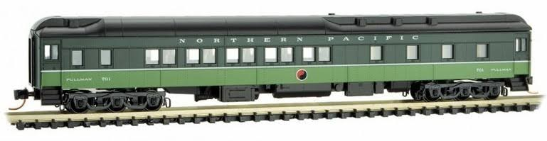 Micro-Trains #14100320 Northern Pacific 10-1-2 Heavyweight Sleeper Car N-Scale