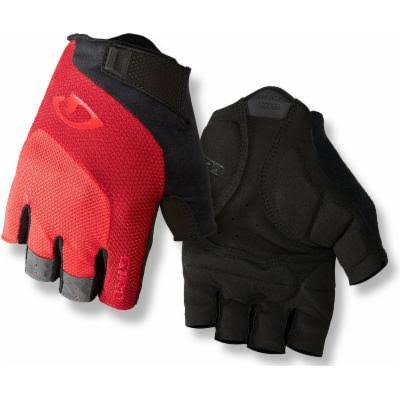 Giro Bravo Gloves - X-Large, Red and Black