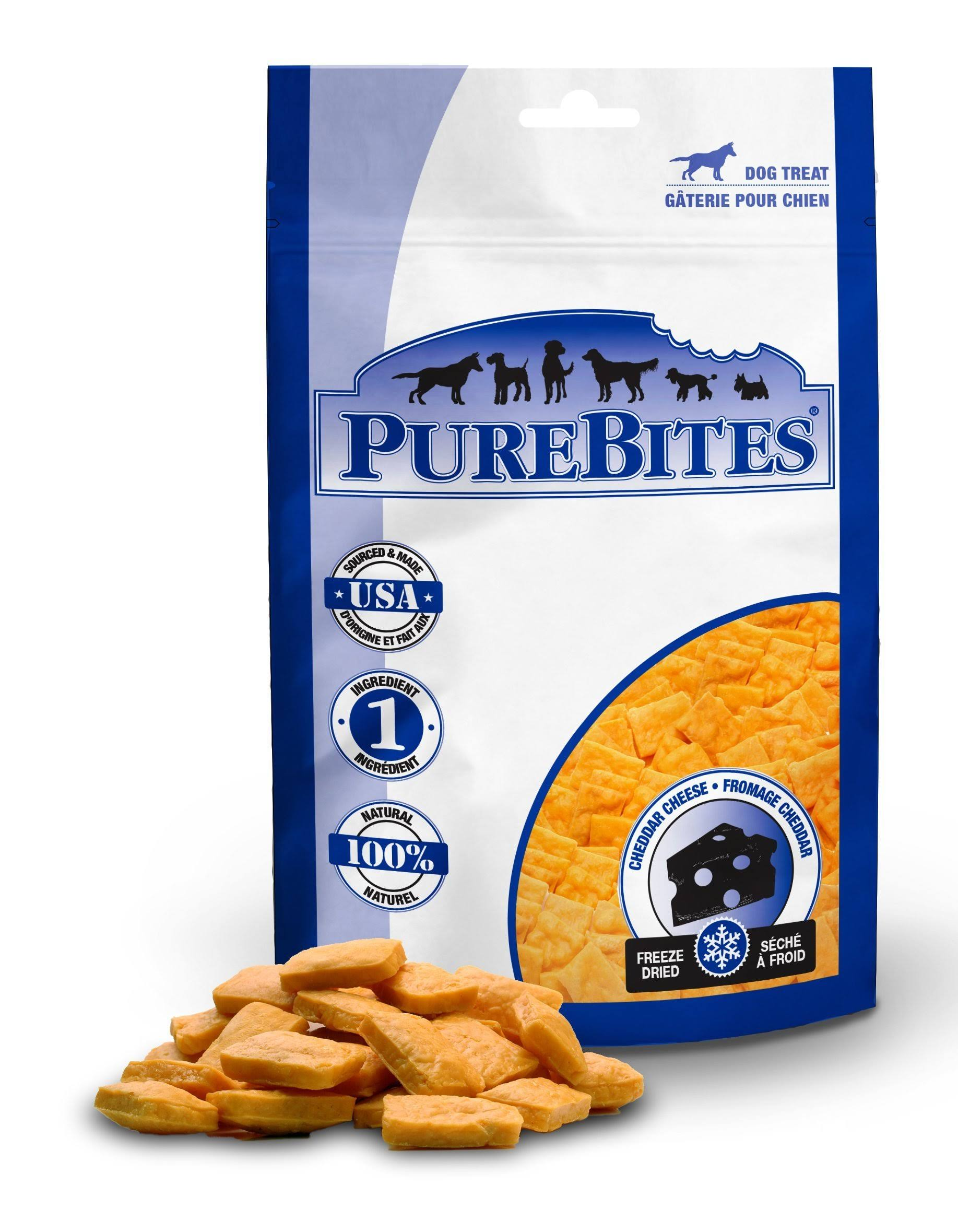 PureBites Cheddar Cheese Dog Treat - 2oz