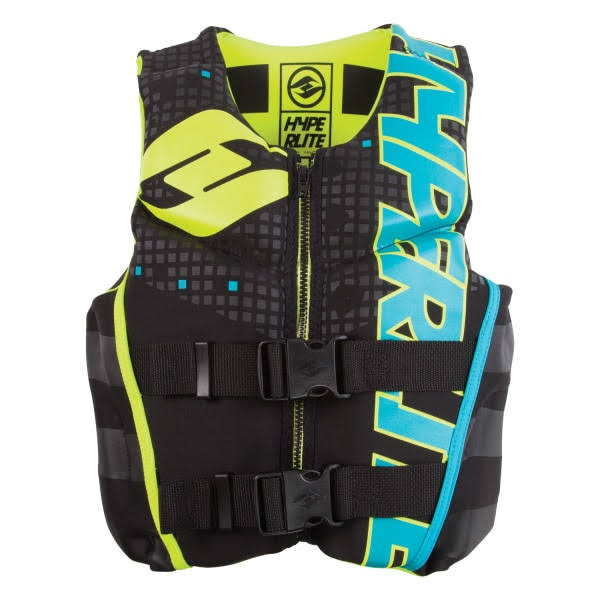 Hyperlite Youth Indy LG Life Vest - Blue and Green