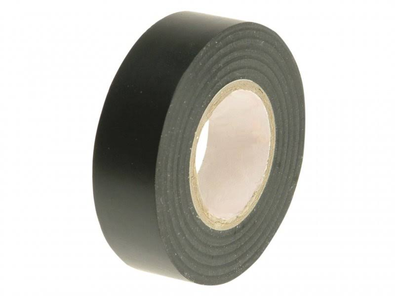 Faithfull PVC Electrical Tape - 19mm x 20m, Black