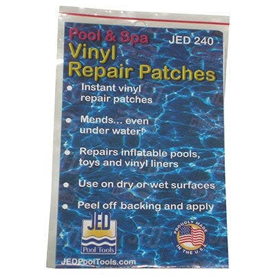 Jed Pool and Spa Vinyl Repair Patches - 36ct