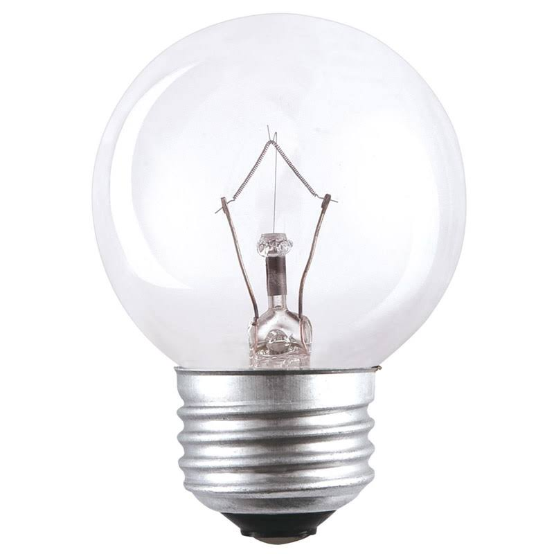 Westinghouse 03236 G16.5 Dimmable Globe Incandescent Bulb, Warm White, 330 Lumens, 40 Watts