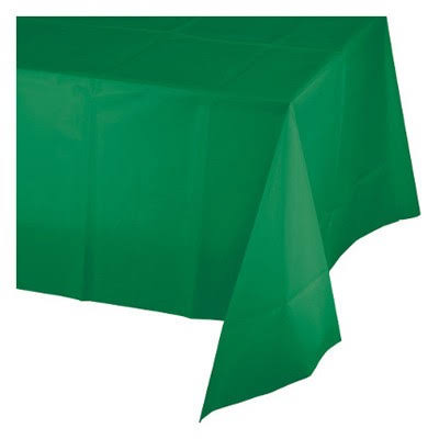 "Creative Converting #01191 Tablecover - 54""x108"", Green"