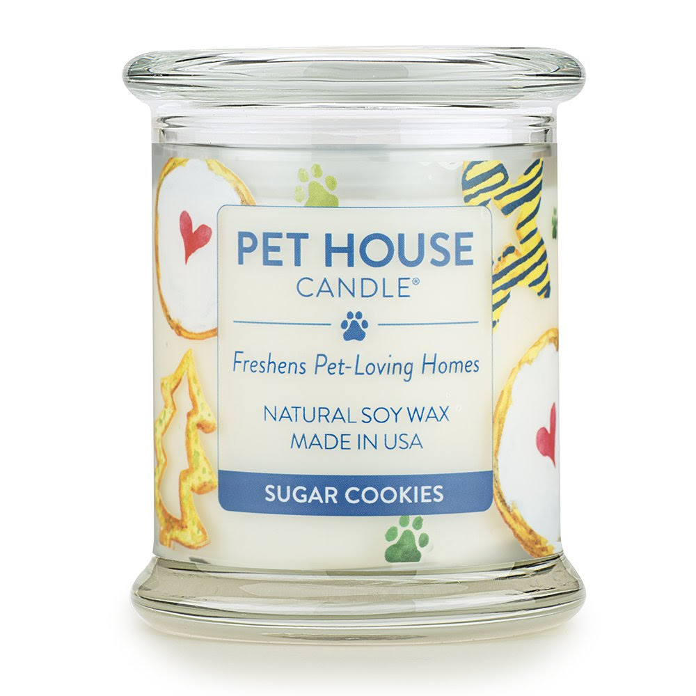 Pet House Candle in 15 Fragrances - All Natural Soy Wax Candle and Pet Odour Eliminator - Eco-Friendly, Non-Toxic, Paraffin-Free