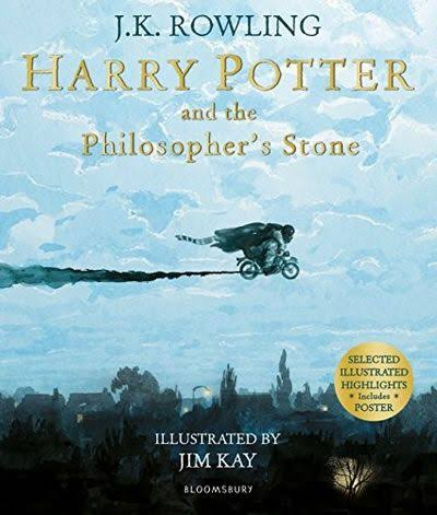 Harry Potter and the Philosopher's Stone: Illustrated Edition - J K Rowling