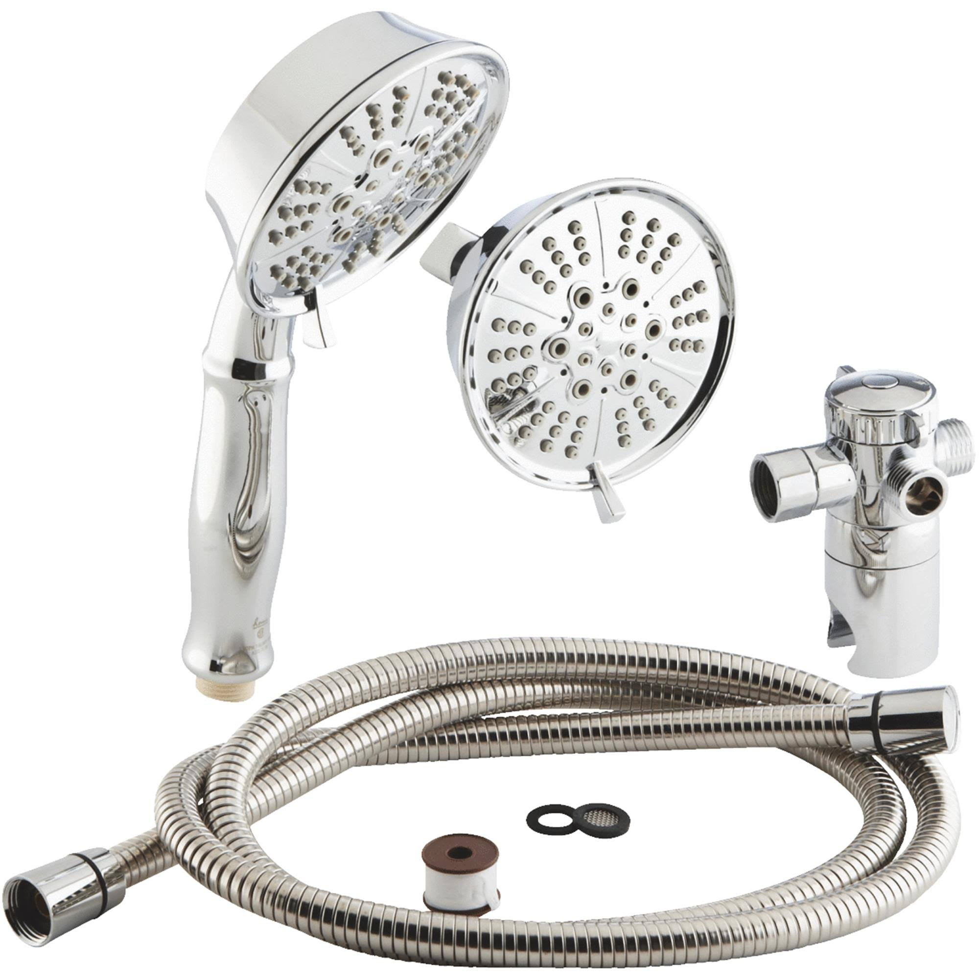 SIM Supply Shower Set - 5 Pieces, Chrome