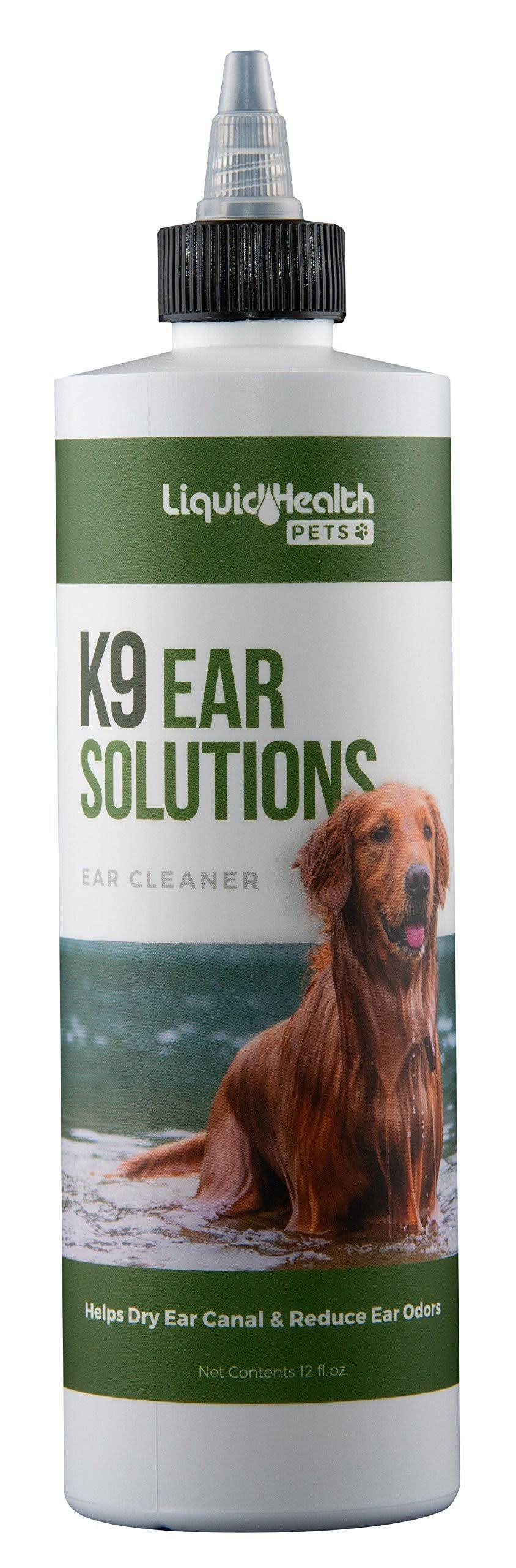 For Animals K9 Ear Solutions Liquid Health