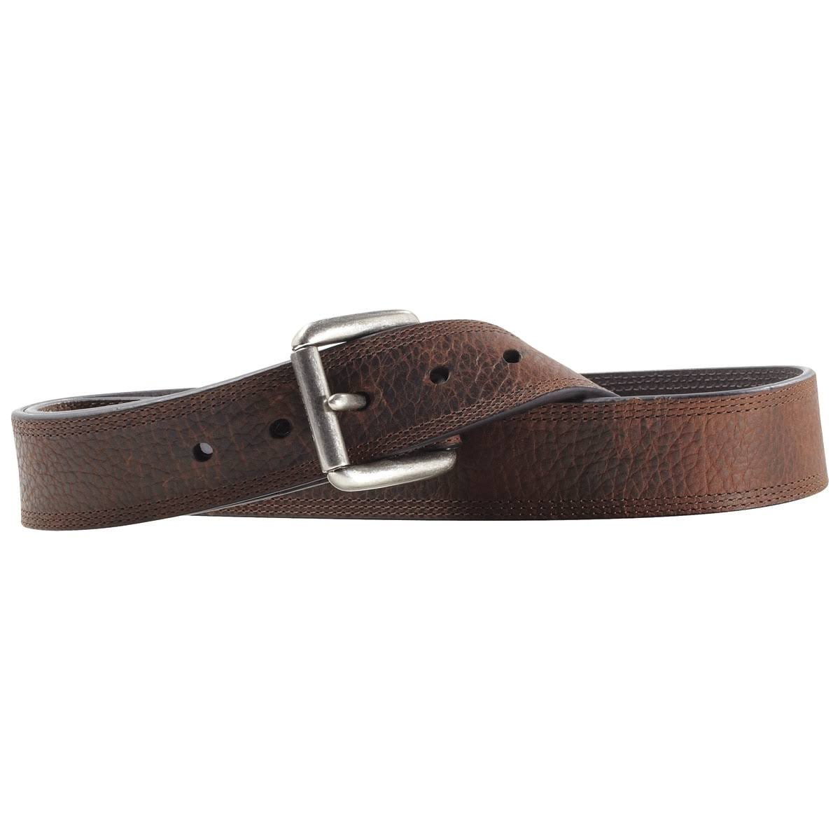 Ariat Men's Triple Row Stitch Belt - Brown