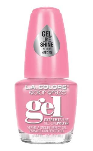 LA Colors Gel Shine Nail Polish - Sweetheart, 0.44oz