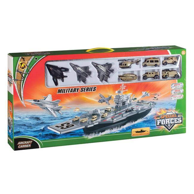 Daron Worldwide Trading Aircraft Carrier Playset