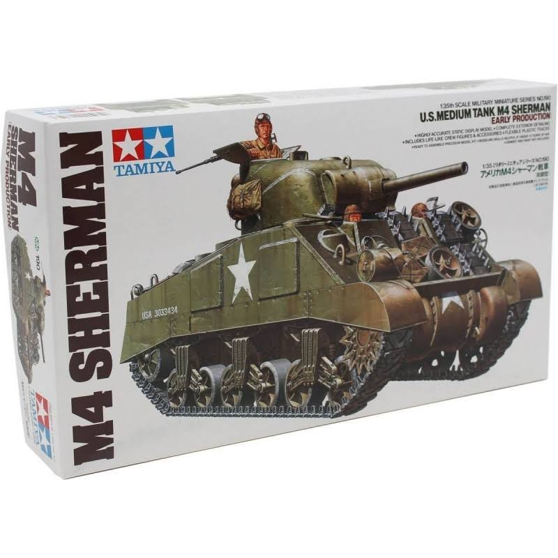 Tamiya U.S. Medium Tank M4 Sherman Early Production - 1:35
