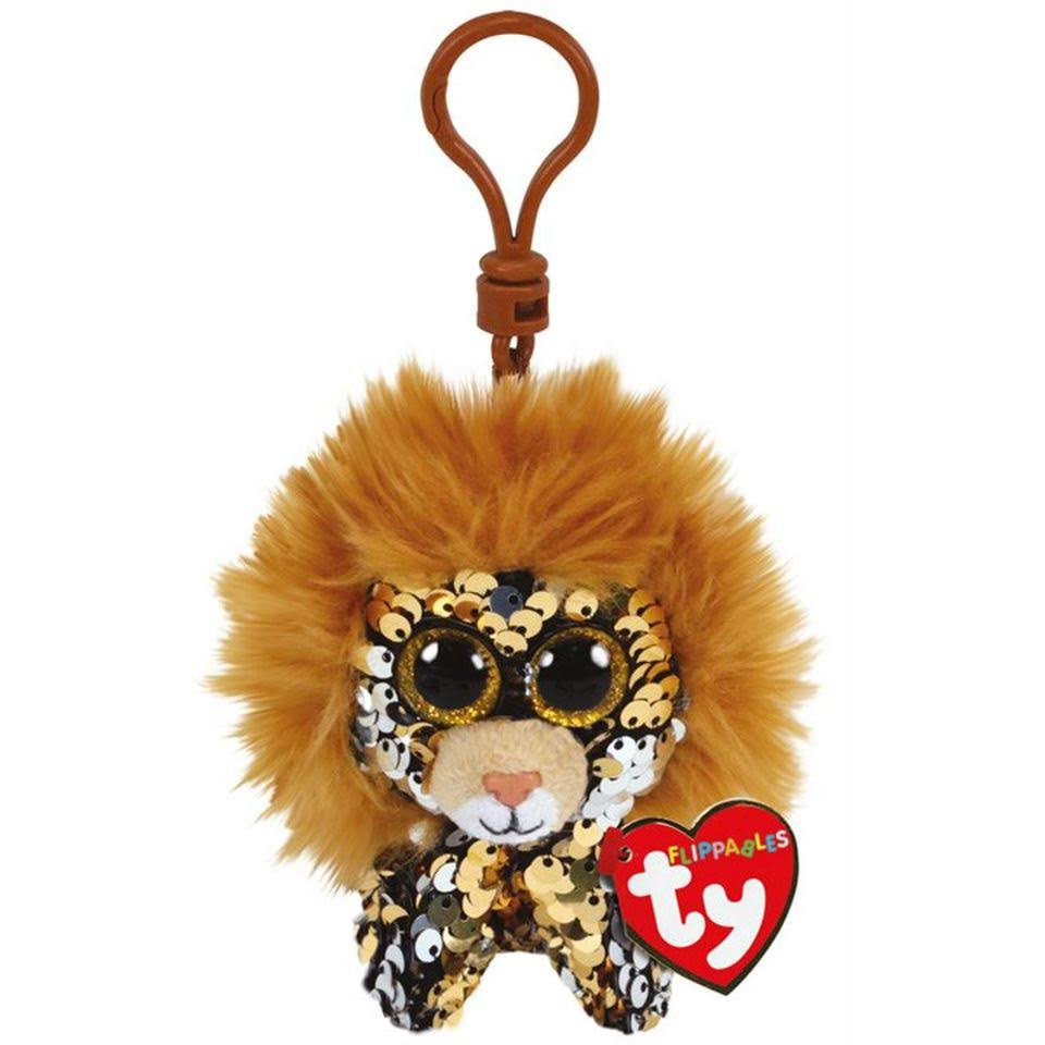 "Ty 3.5"" Regal The Lion Sequin Clip"