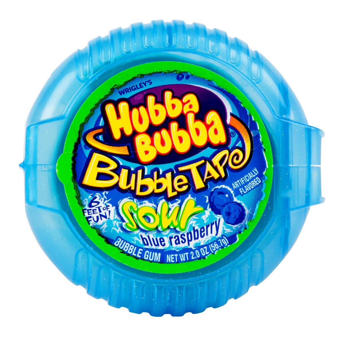 Wrigley's Hubba Bubba Bubble Tape Sour - Blue Raspberry