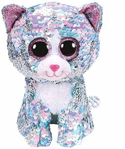 Ty Whimsy - Cat Sequin Blue Medium