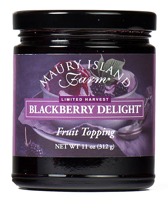 Maury Island Farm Gourmet Blackberry Fruit Topping 11 oz