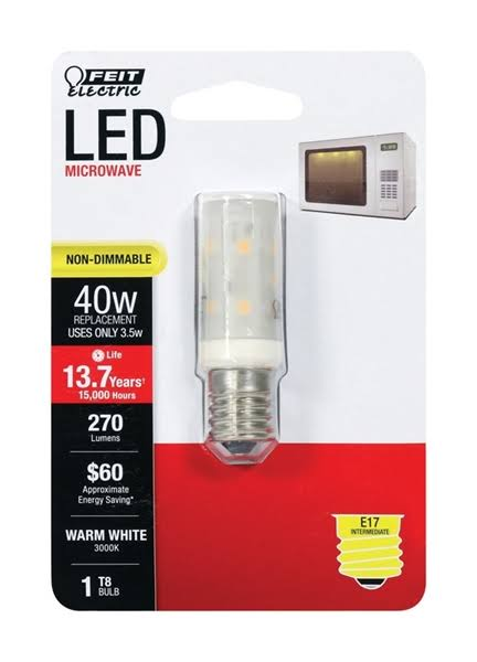 Feit Electric Light Bulb, LED, Warm White, 3.5 Watts