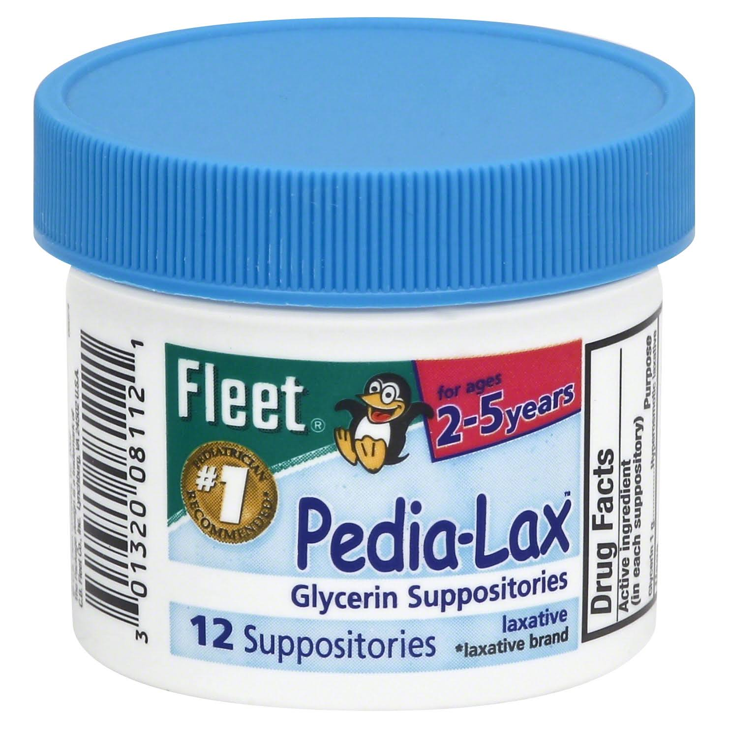 Fleet Glycerin Child Suppositories Laxative
