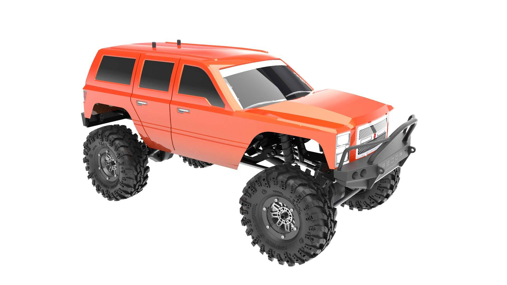 Redcat Racing 1:10 Everest Gen7 Sport 4wd Crawler Brushed RTR Model Kit - Burnt Orange