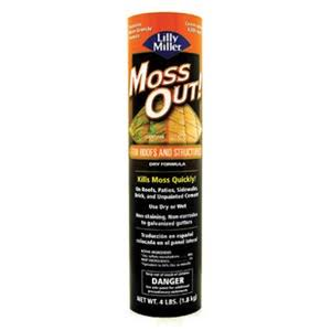 Lilly Miller For Roofs And Structures Moss Out - 4lbs