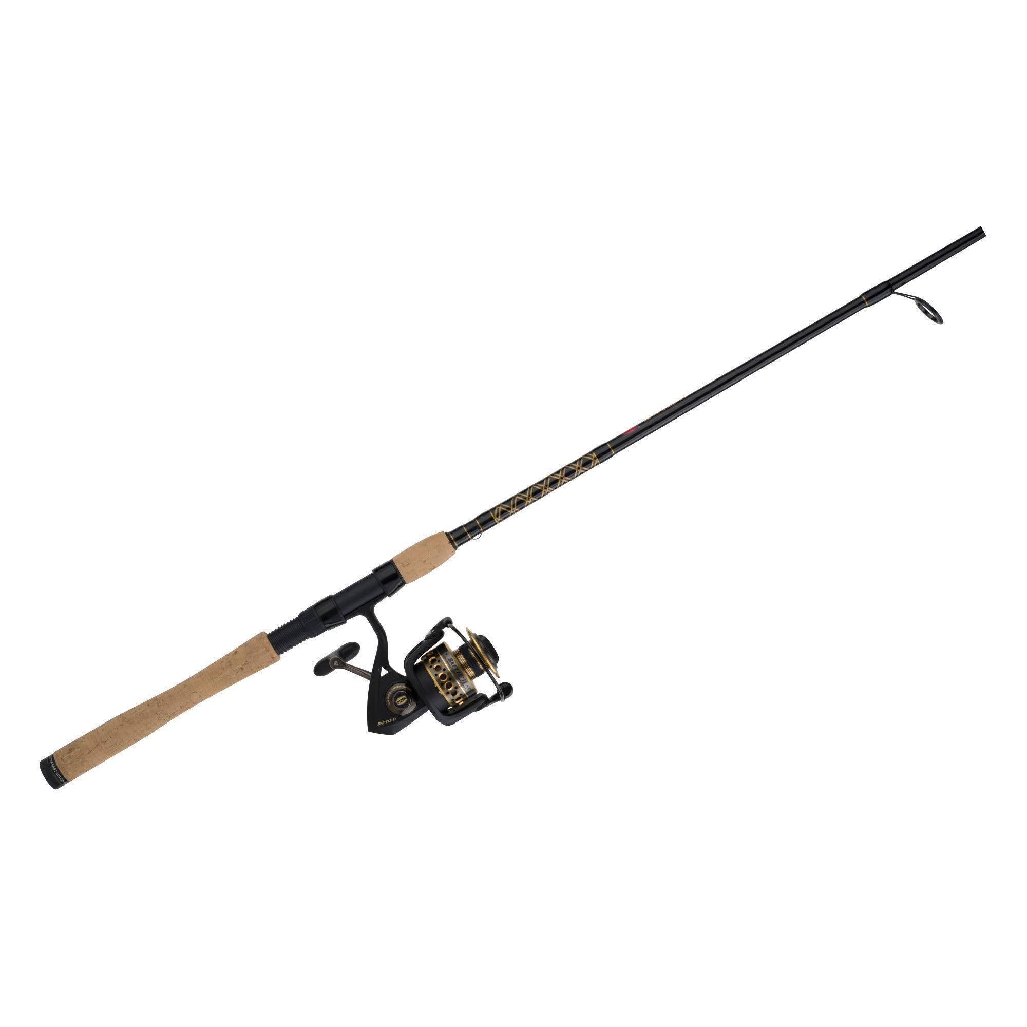 "Penn Battle II Spinning Combo 2000 - 6'6"", 1pc"