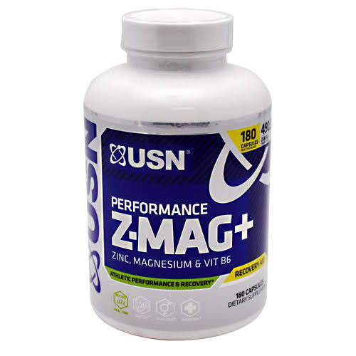 Usn Performance Z Mag Plus Dietary Supplement - 180ct
