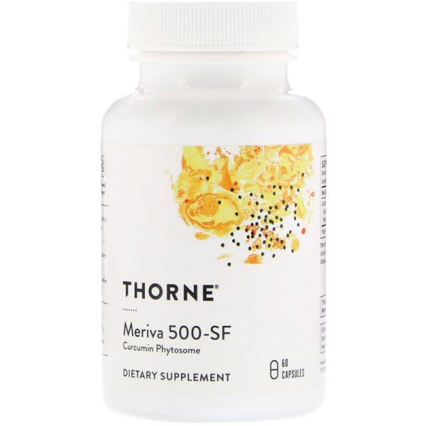 Thorne Research Meriva 500 Sf Soy Curcumin Phytosome Dietary Supplement - 60ct