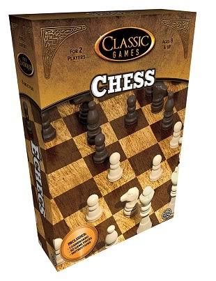 TCG Classic Games Chess Board Games - Ages 8 & up