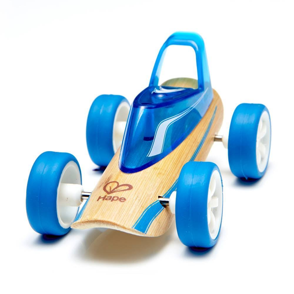 Hape Bamboo Mighty Mini Roadster Toy Car