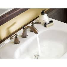 Moen Hands Free Lavatory Faucet by Moen T6620 Brantford Chrome Two Handle Widespread Bathroom Faucets