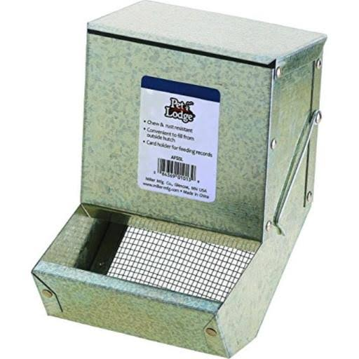 Little Giant Galvanized Rabbit Feeder