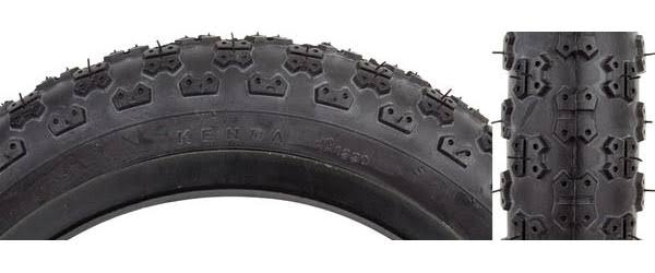 "Sunlite MX3 BMX Tires - Black/Black, 12.5"" x 2.25"""
