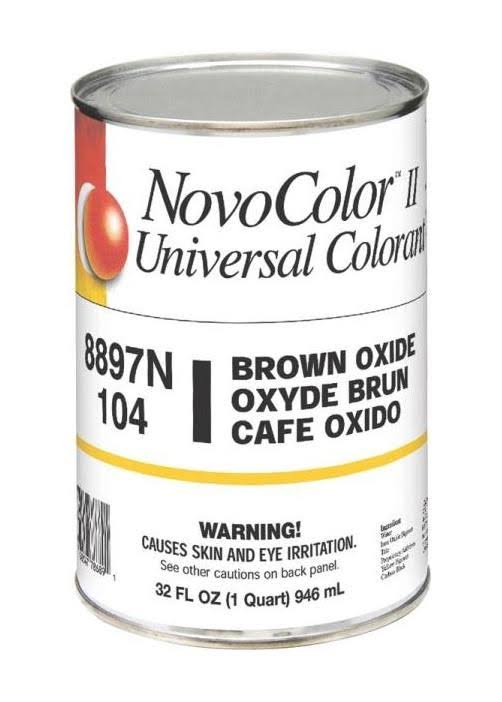 Novocolor II Universal Colorant - Brown Oxide, 1qt