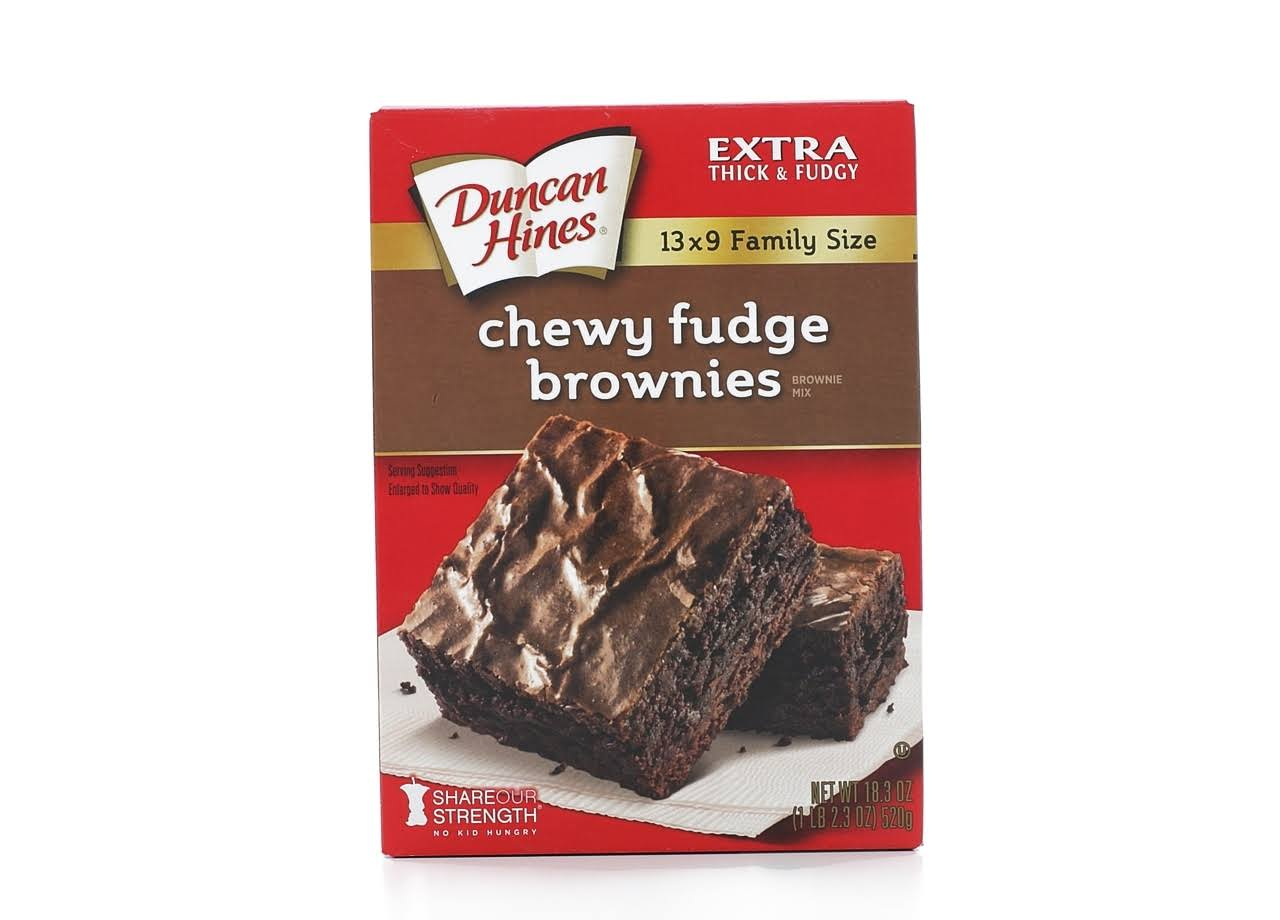 Duncan Hines Chewy Fudge Brownie Mix - 18.3 oz